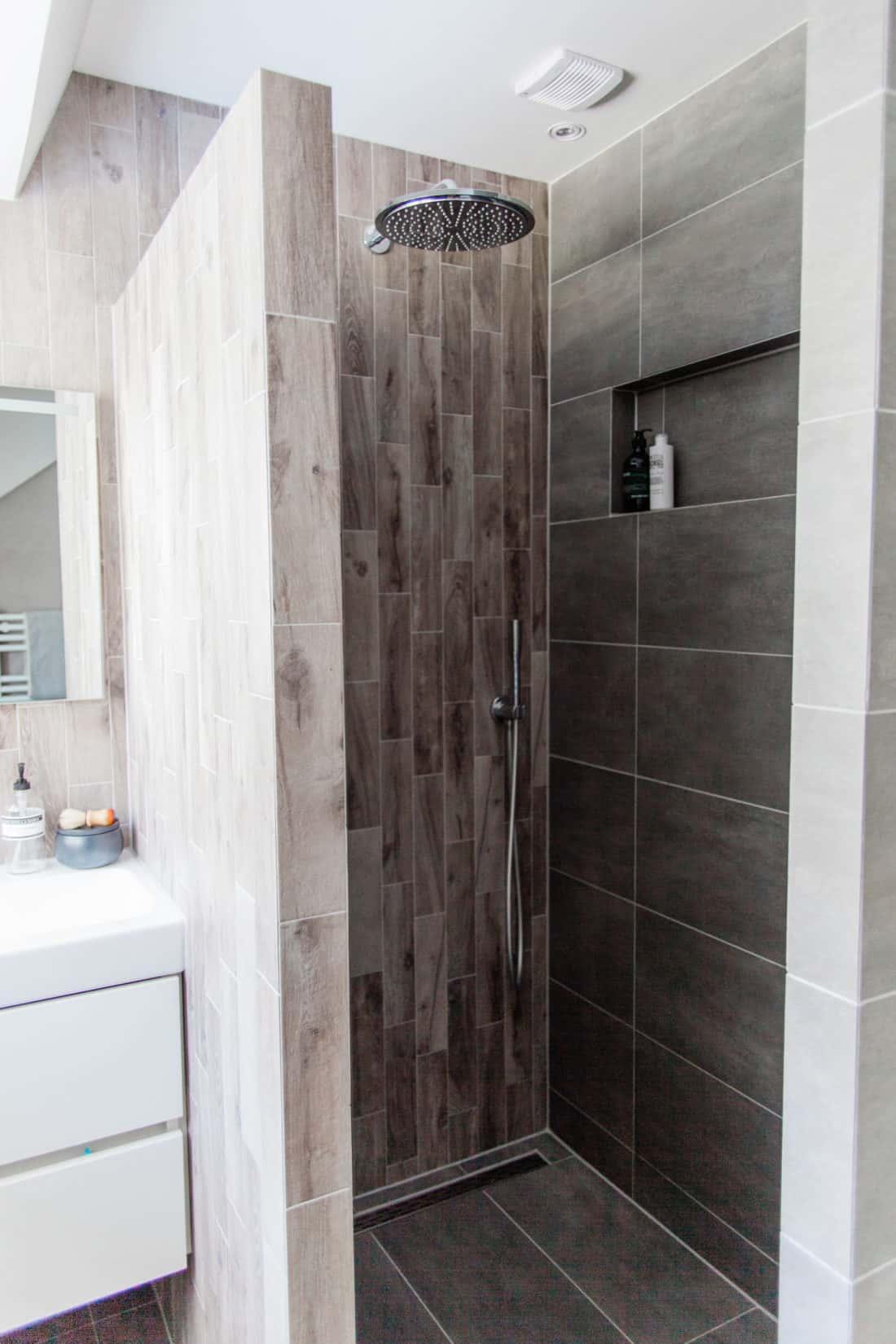 Interieurontwerp bovenverdieping jaren dertig woning douche