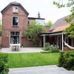 interieurontwerp verbouwing jaren 20 woning tuin