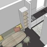 interieurontwerp verbouwing eethoek
