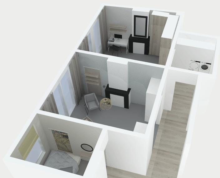 interieurontwerp bovenverdieping
