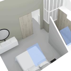 interieurontwerp zolder