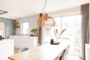 interieuradvies woonkamer en keuken eethoek