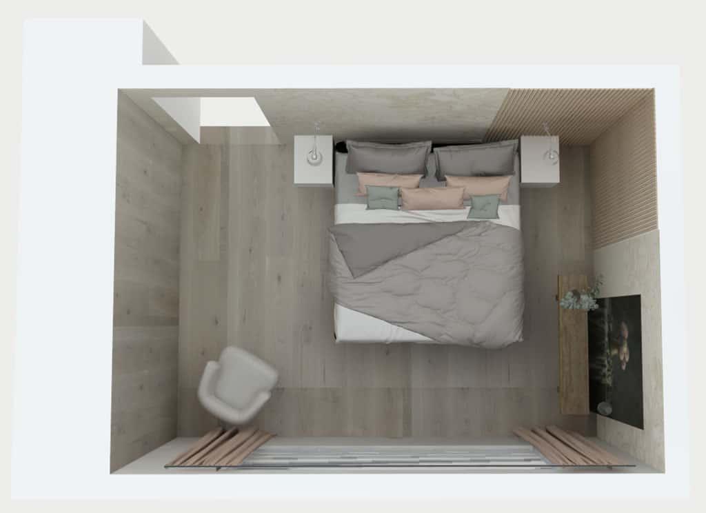 interieurontwerp en realisatie slaapkamer