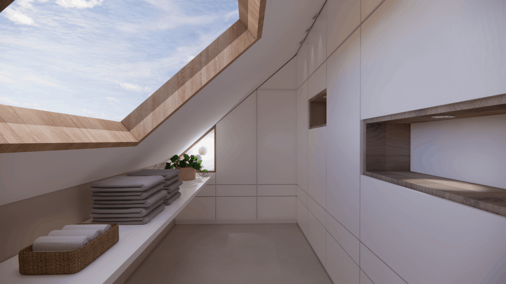 interieurontwerp zolderruimte